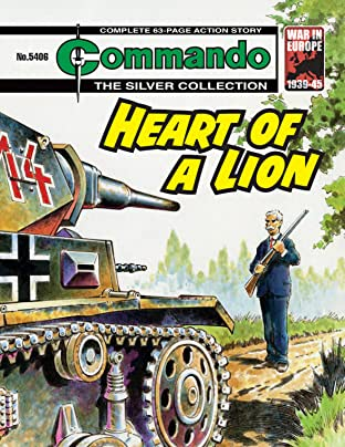 Commando #5406: Heart Of A Lion