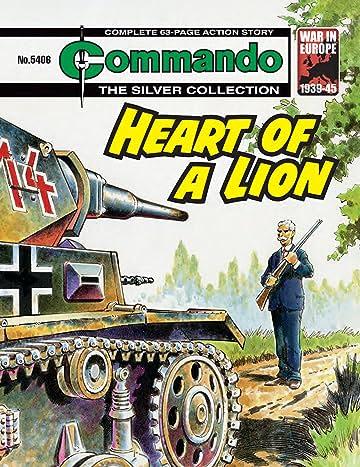 Commando #5406: Heart Of A Lion
