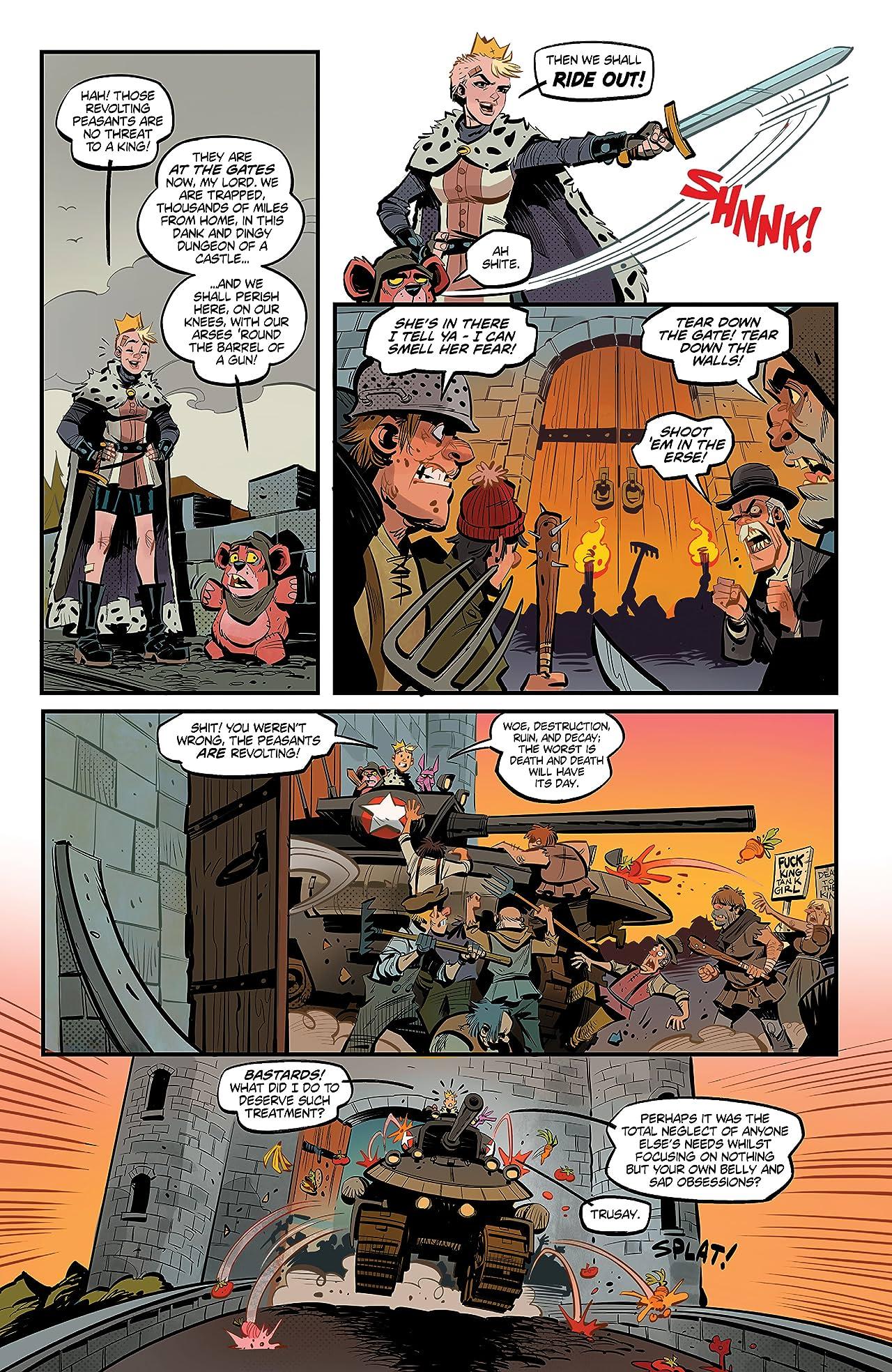 'King Tank Girl #2