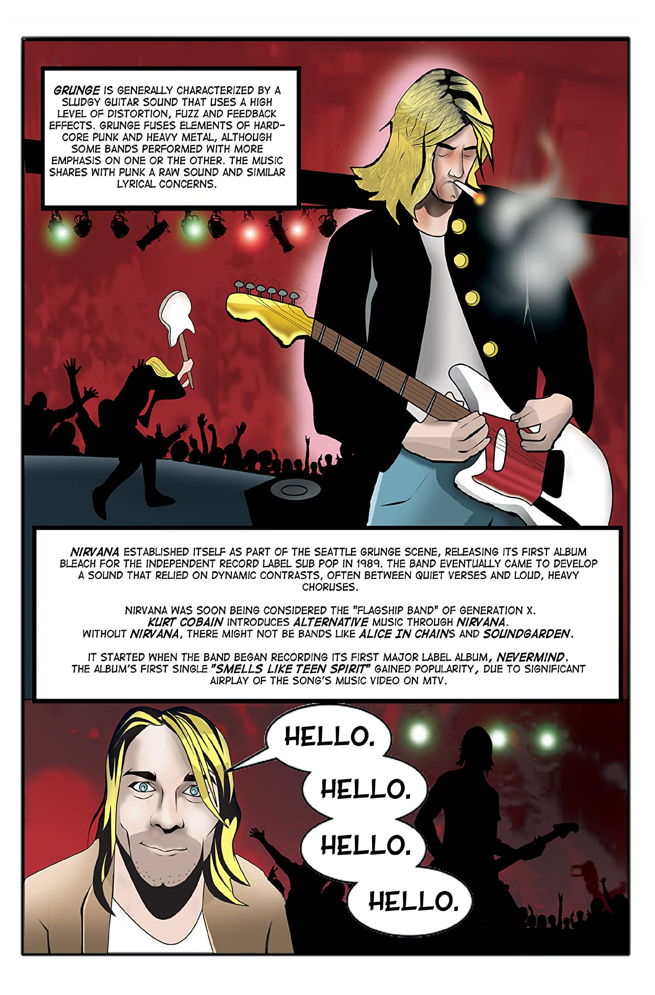 Tribute: Kurt Cobain