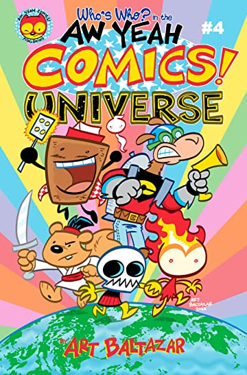 Who's Who in the Aw Yeah Comics Universe #4