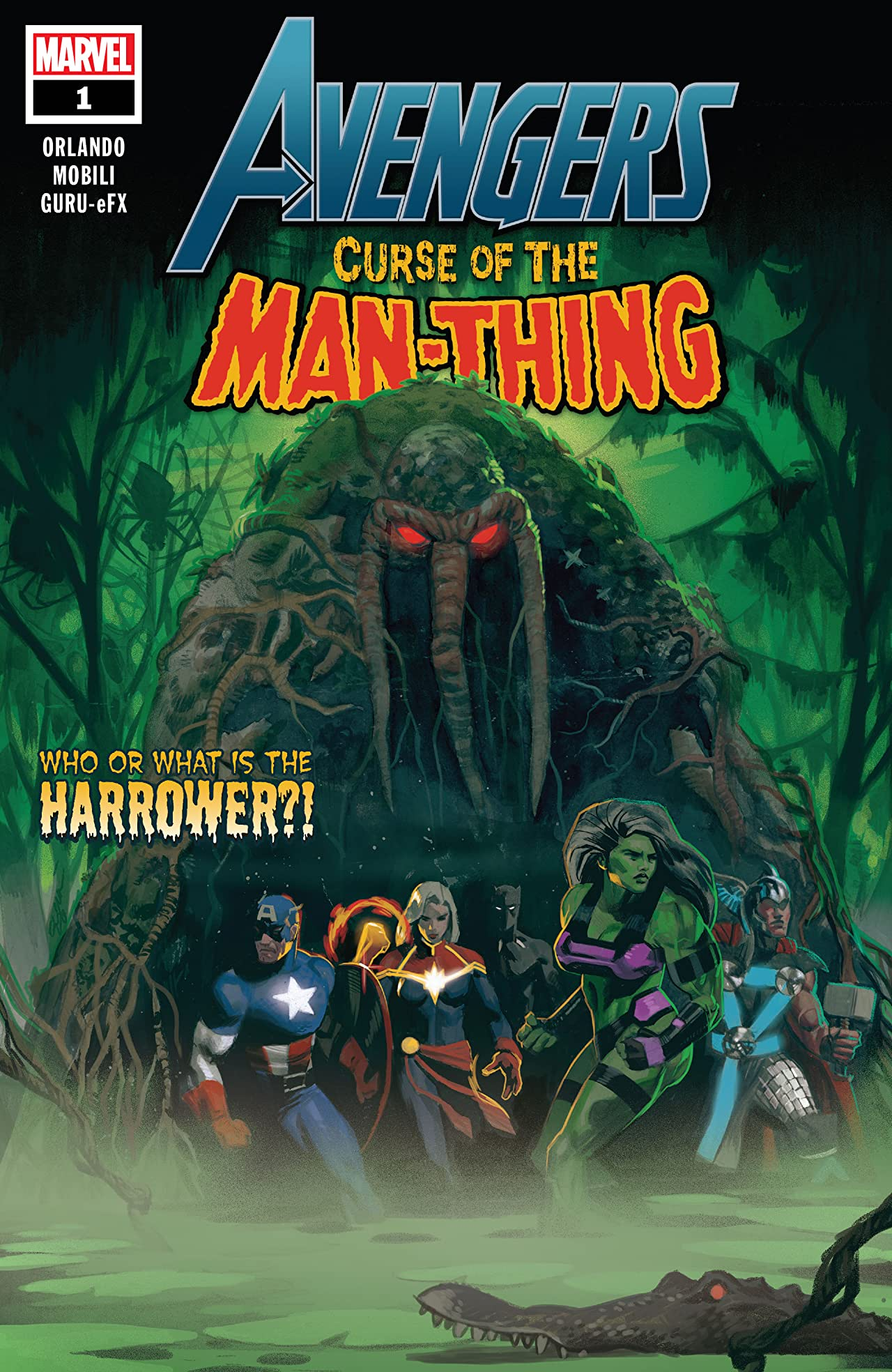 Avengers: Curse Of The Man-Thing (2021) No.1