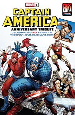 Captain America Anniversary Tribute (2021) #1