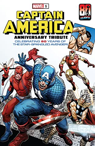 Captain America Anniversary Tribute (2021) #1
