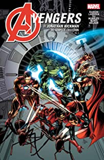 Avengers by Jonathan Hickman: The Complete Collection Tome 4