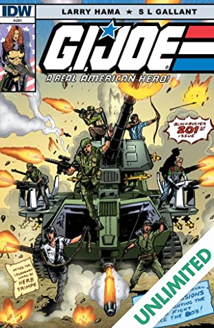 G.I. Joe: A Real American Hero #201