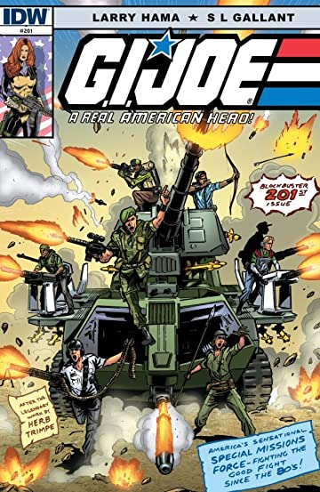 G.I. Joe: A Real American Hero No.201