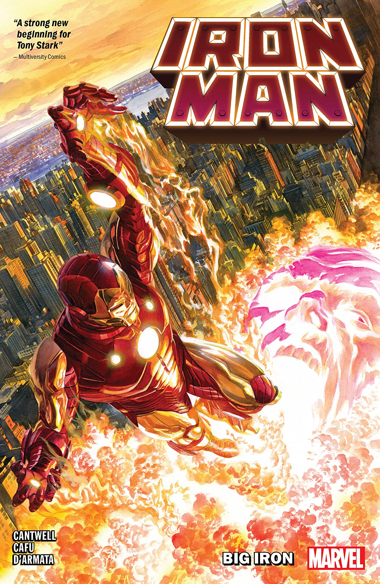 Iron Man Vol. 1: Big Iron