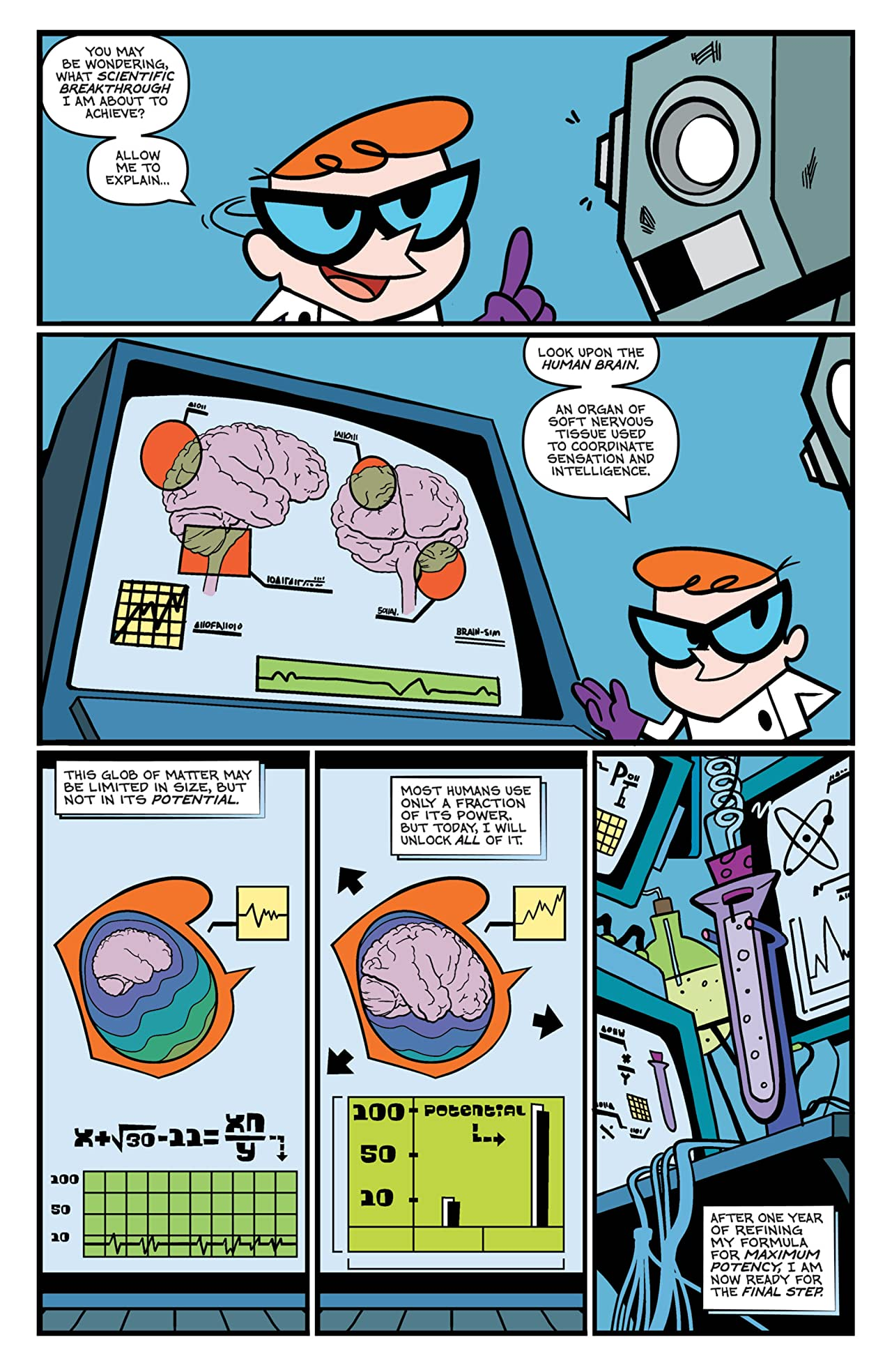 Dexter's Laboratory #1 (of 4)