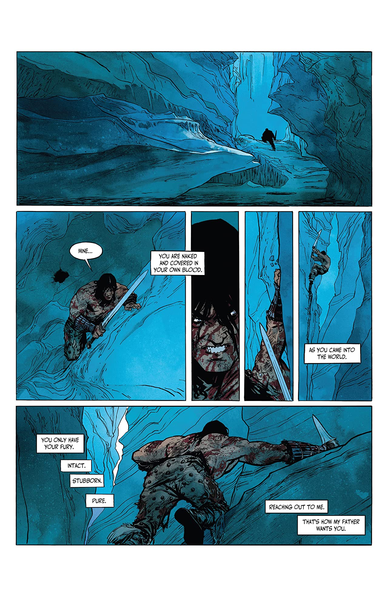 The Cimmerian #2: The Frost-Giant's Daughter