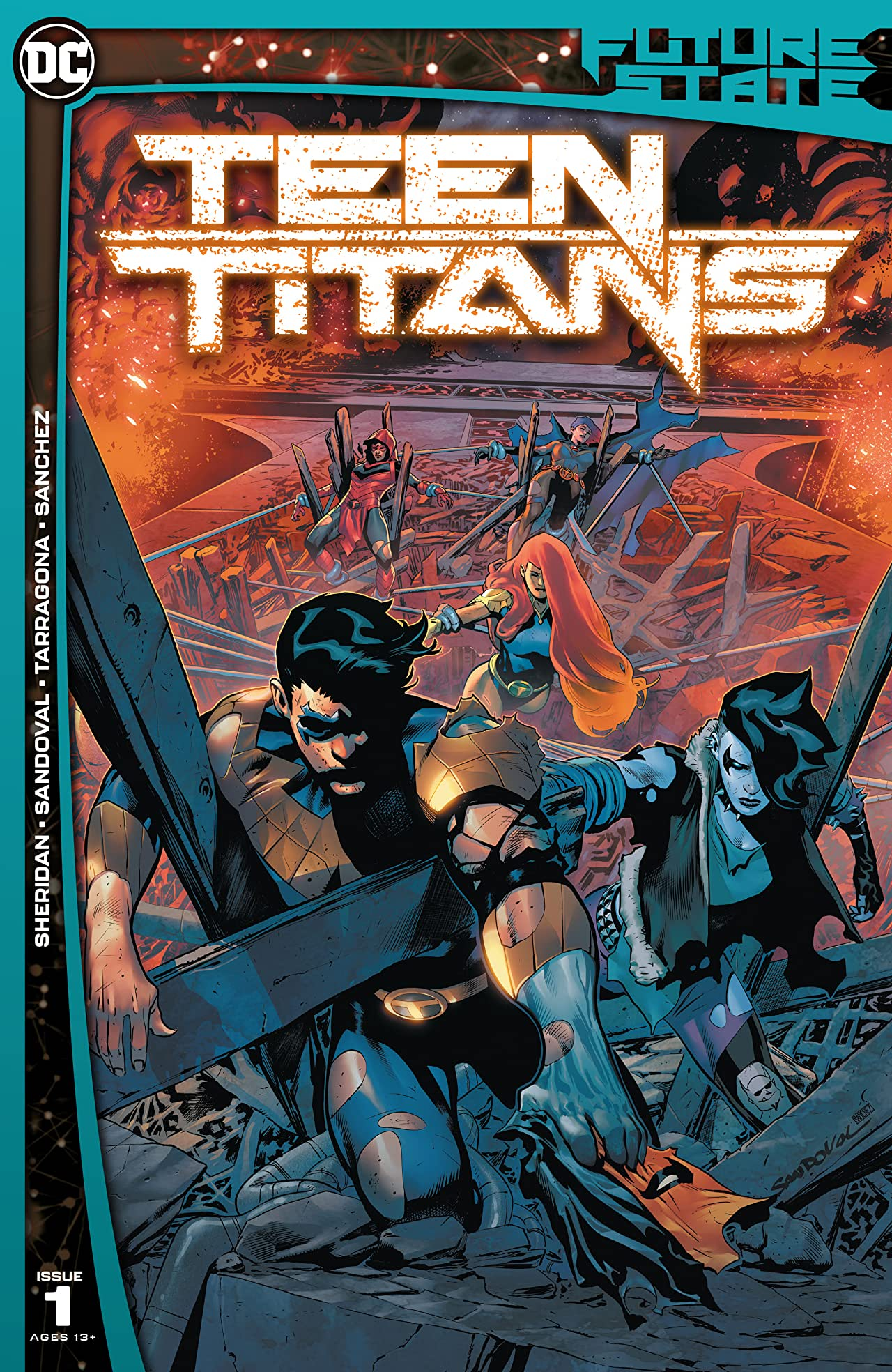 Future State (2021-)  No.1: Teen Titans