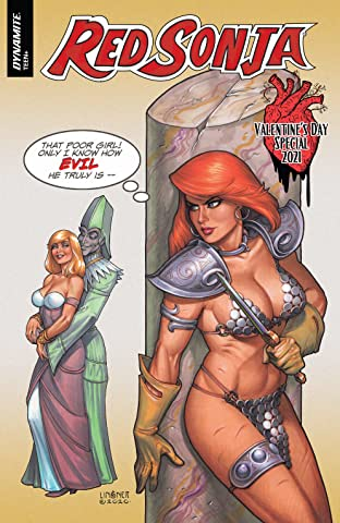 Red Sonja Valentine's Special One-Shot