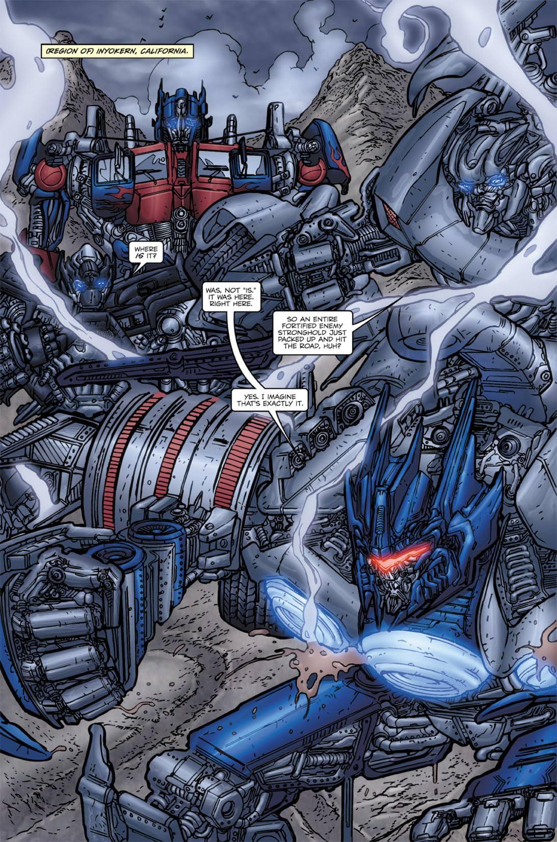 Transformers: Nefarious #5