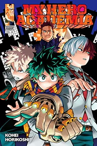My Hero Academia Vol. 26: The High Deep Blue Sky