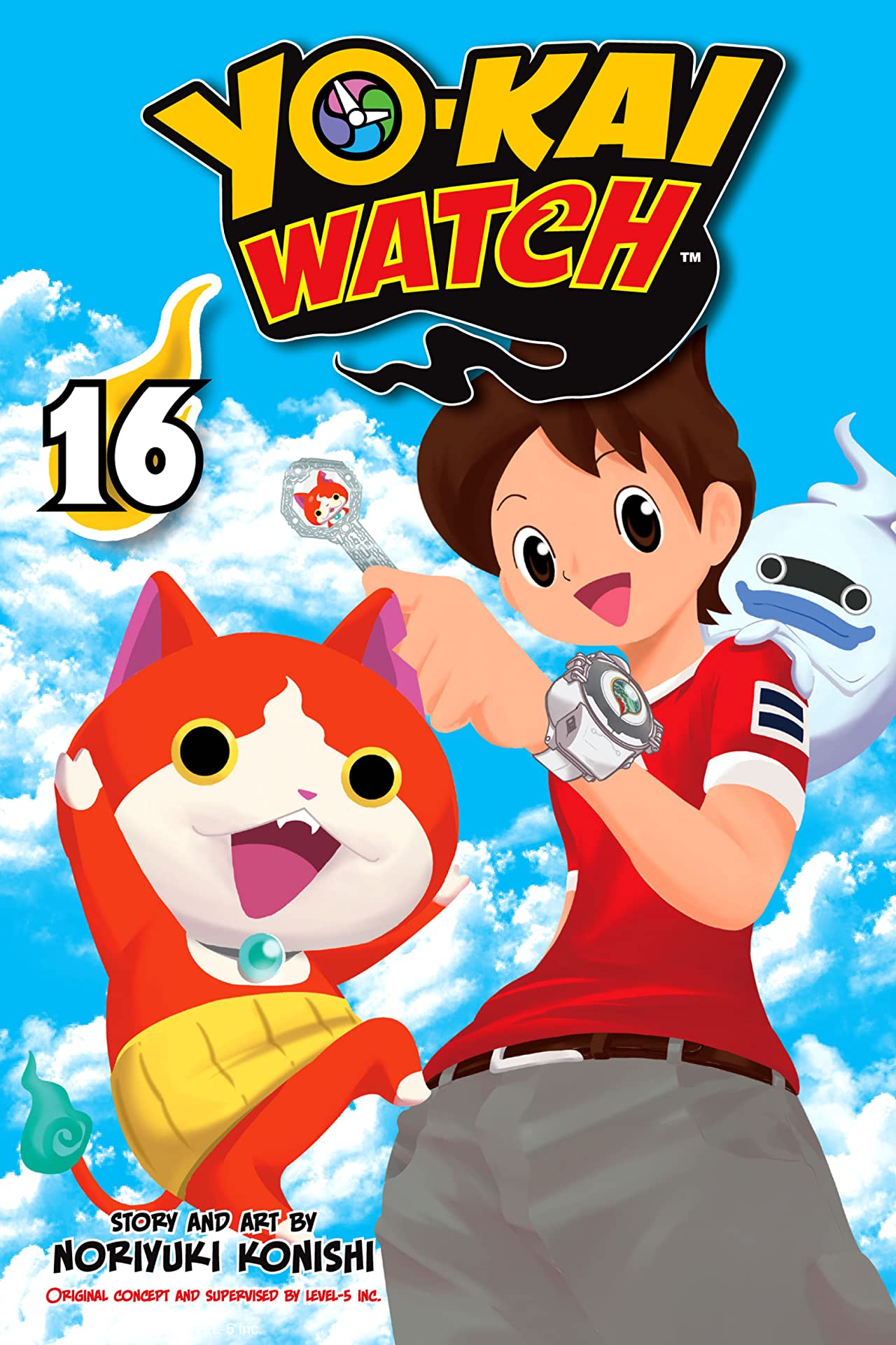 YO-KAI WATCH Tome 16