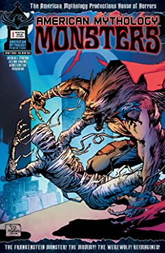 American Mythology Monsters #1