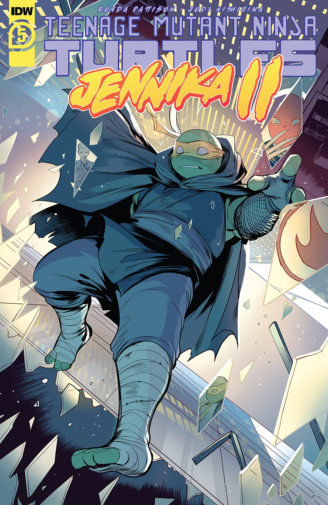 Teenage Mutant Ninja Turtles: Jennika II #5 (of 6)