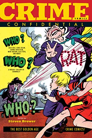 Crime Comics Confidential
