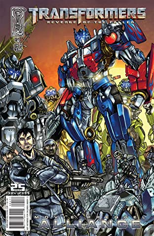 Transformers: Alliance - The Revenge of the Fallen Movie Prequel #4