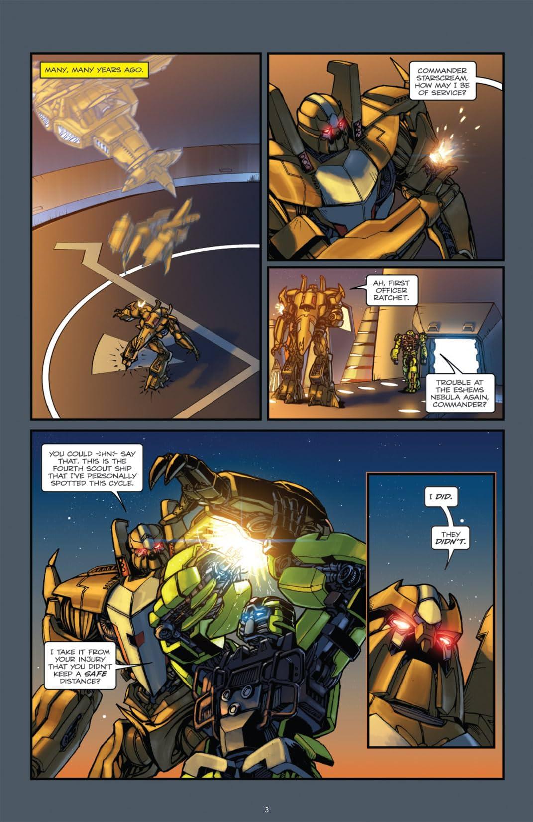 Transformers: Defiance - The Revenge of the Fallen Movie Prequel #1