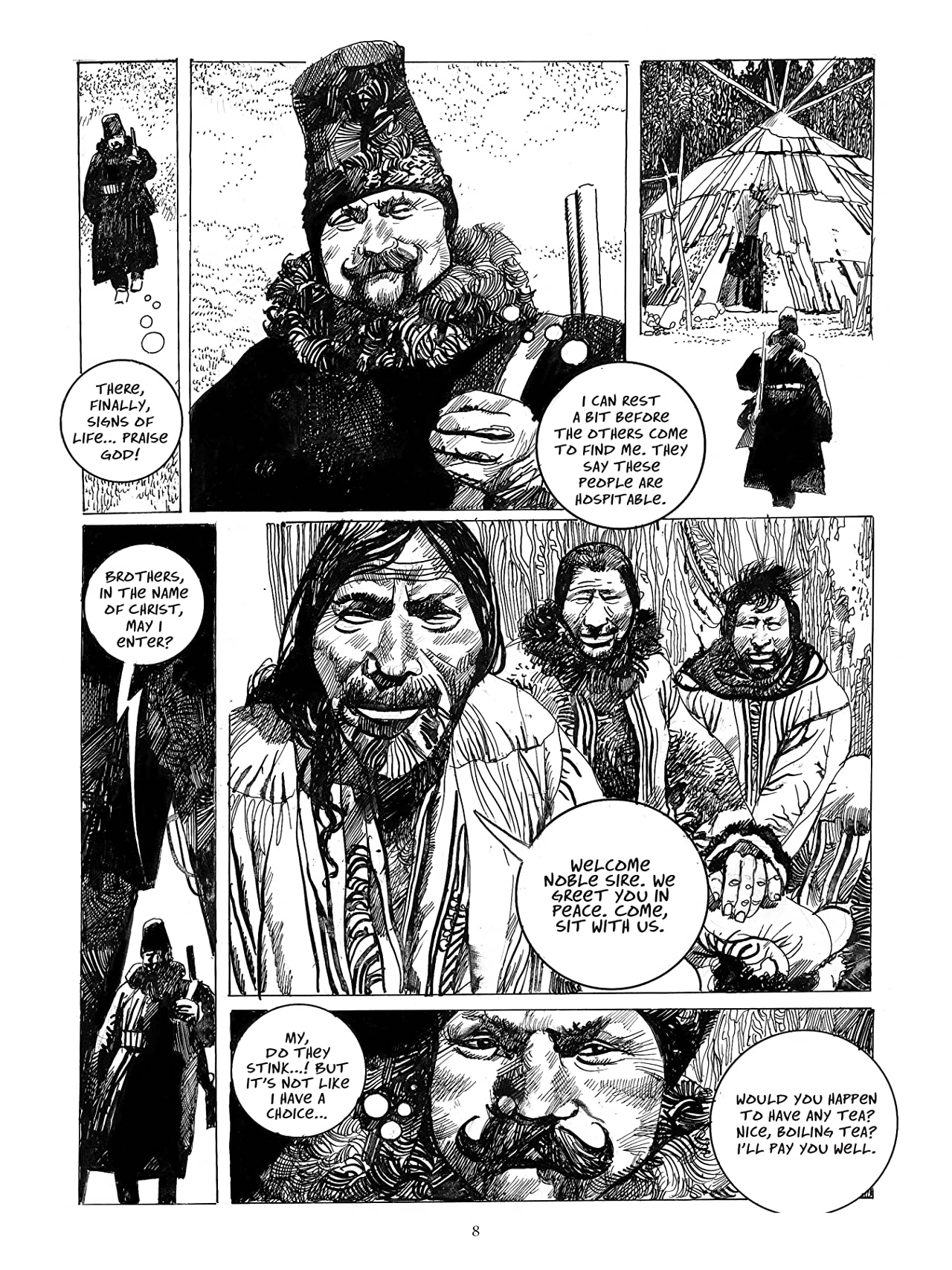 The Collected Toppi Vol. 5: The Eastern Path
