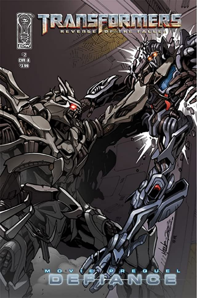 Transformers: Defiance - The Revenge of the Fallen Movie Prequel #2