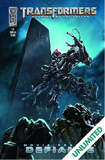 Transformers: Defiance - The Revenge of the Fallen Movie Prequel #3