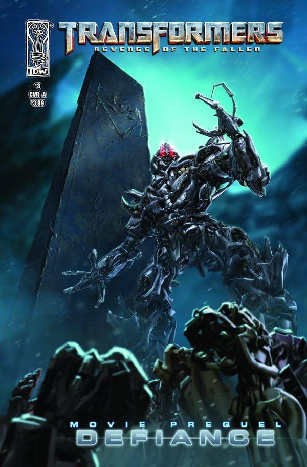 Transformers: Defiance - The Revenge of the Fallen Movie Prequel #3