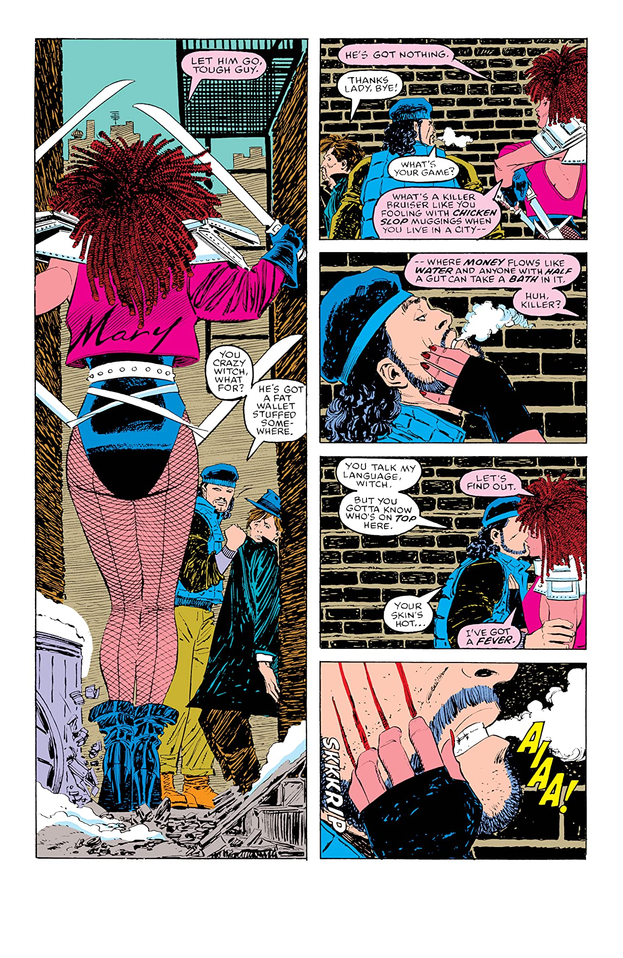 Daredevil Legends: Typhoid Mary