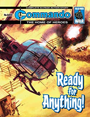 Commando #5411: Ready For Anything!