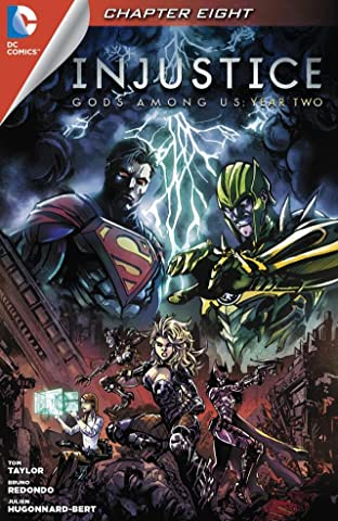 Injustice: Gods Among Us: Year Two (2014) #8