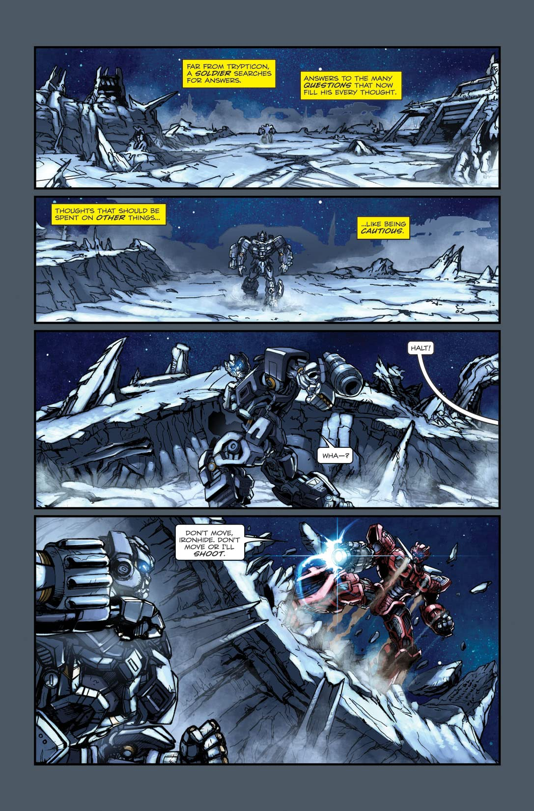 Transformers: Defiance - The Revenge of the Fallen Movie Prequel #4