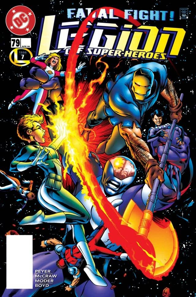 Legion of Super-Heroes (1989-2000) #79