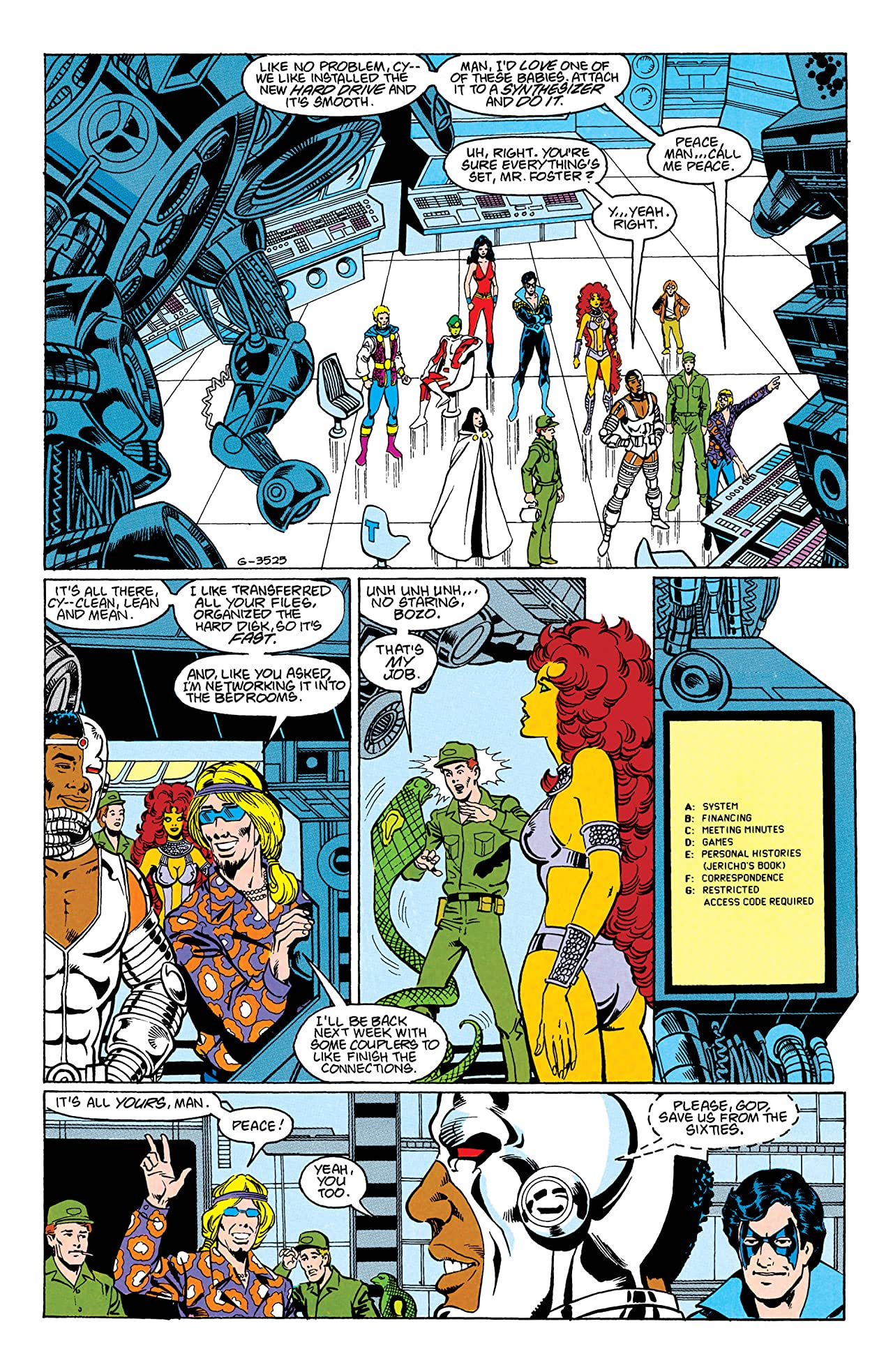 The New Teen Titans (1984-1996) #47