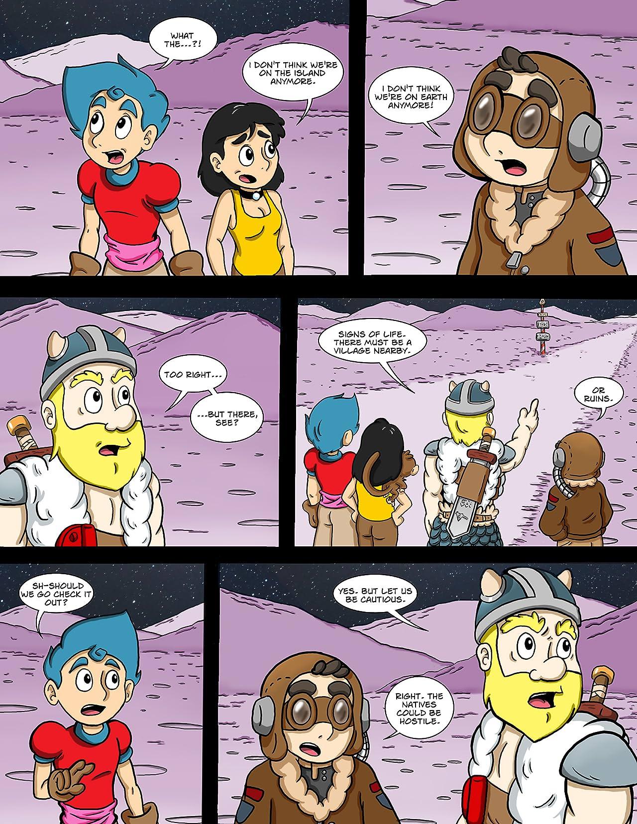 The Adventures of Simon's Island #6