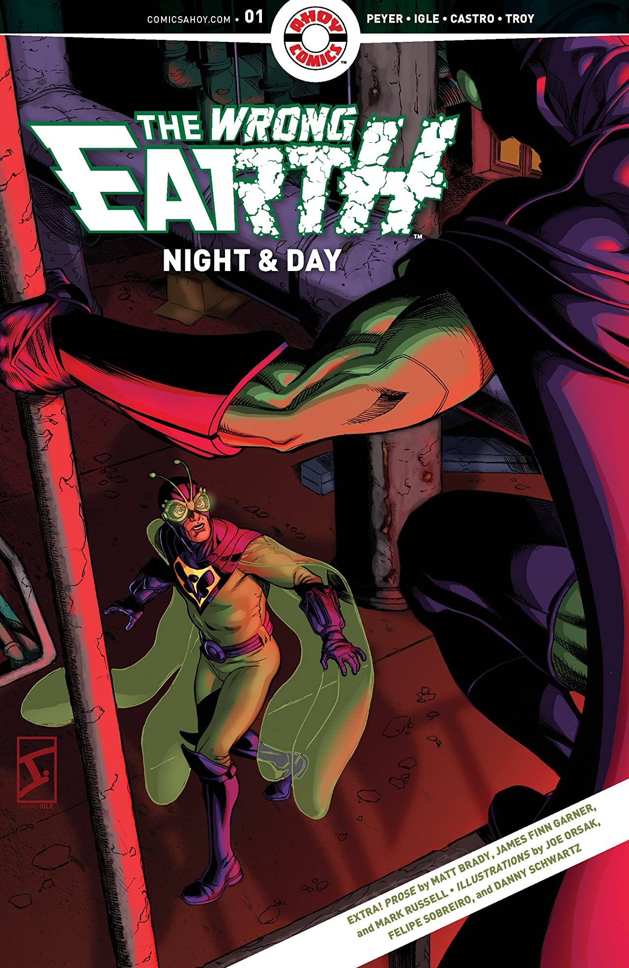 The Wrong Earth: Night and Day No.1