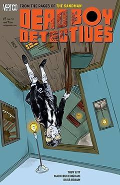 The Dead Boy Detectives (2013-2014) No.5