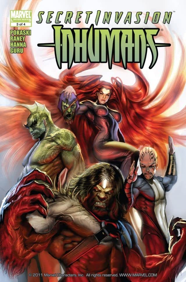 Secret Invasion: Inhumans #3 (of 4)