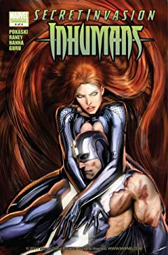 Secret Invasion: Inhumans #4 (of 4)