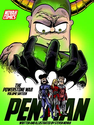 Pen Man Vol. 16: The Powerstone War