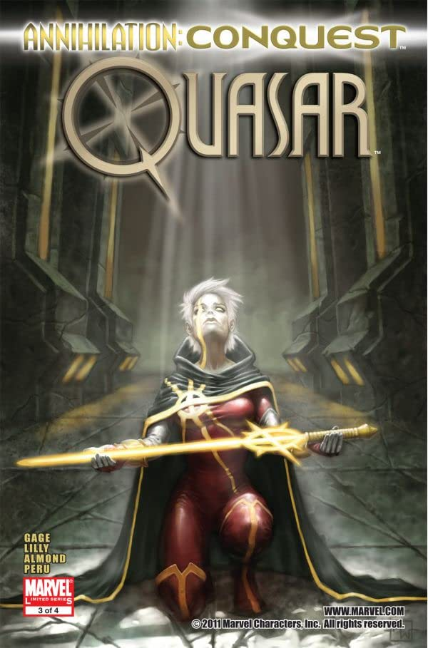 Annihilation: Conquest - Quasar #3 (of 4)