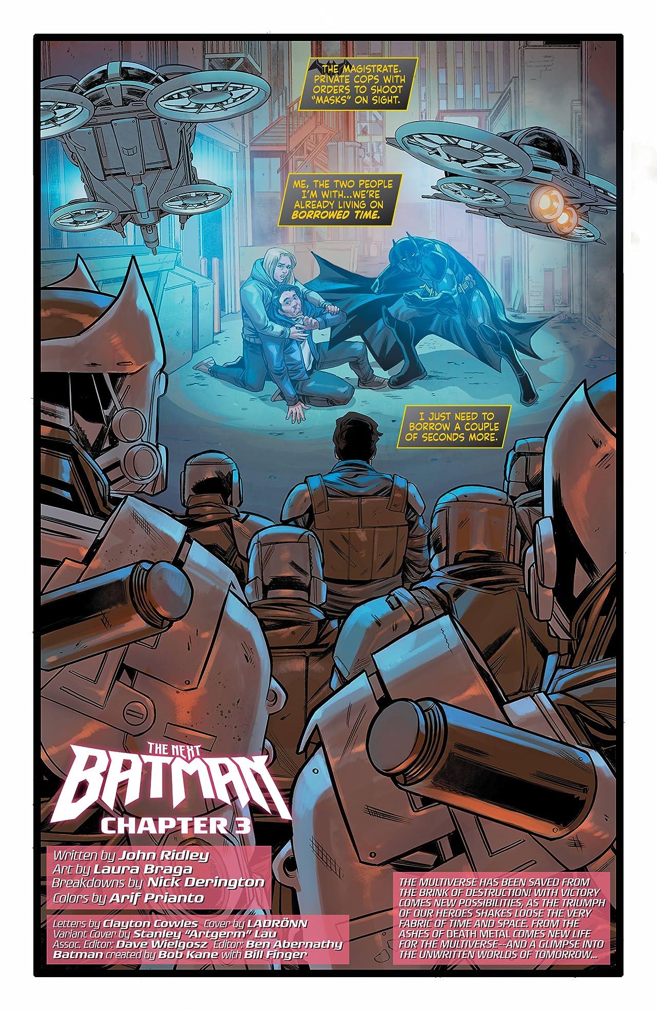 Future State (2021-) No.3: The Next Batman