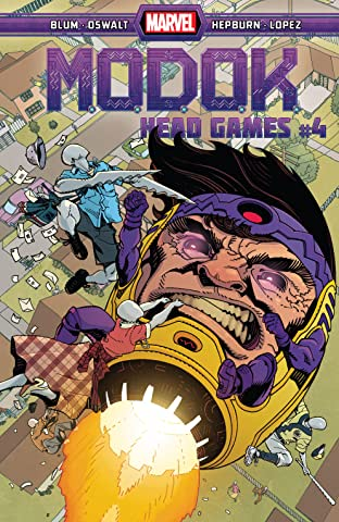 M.O.D.O.K.: Head Games (2020-) #4 (of 4)