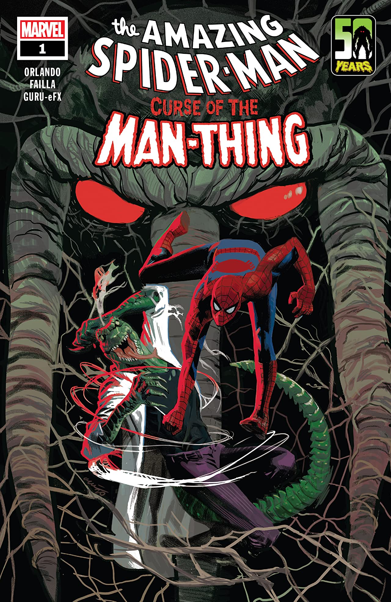 Spider-Man: Curse Of The Man-Thing (2021) No.1