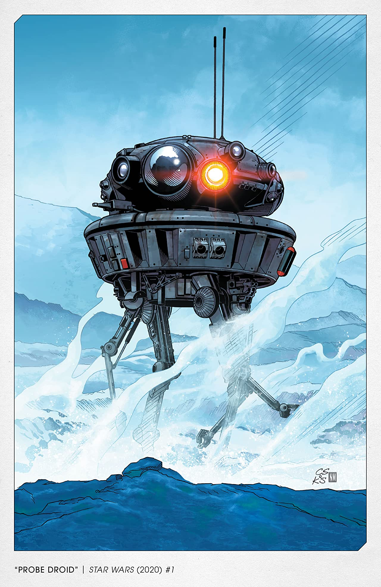 Star Wars: The Empire Strikes Back - The 40th Anniversary Covers by Chris Sprouse (2021) No.1