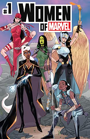 Women Of Marvel (2021) #1