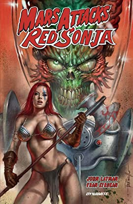 Mars Attacks Red Sonja Collection