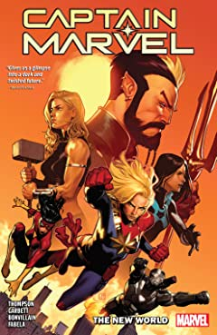 Captain Marvel Vol. 5: The New World