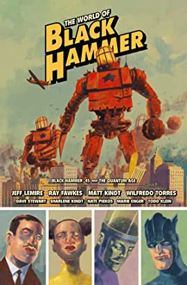 The World of Black Hammer Library Edition Vol. 2