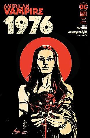 American Vampire 1976 (2020-) No.5